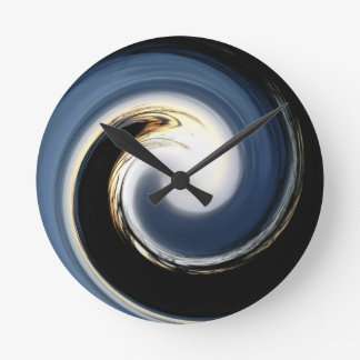 The Wave Round Clock