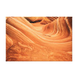 The Wave Stretched Canvas Prints