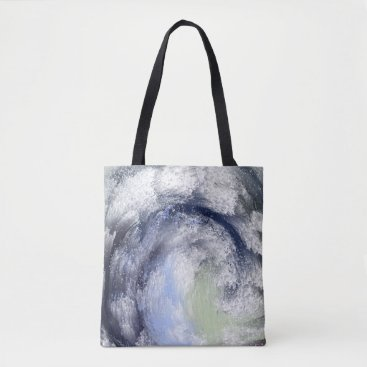 Beach Themed The Wave Tote Bag