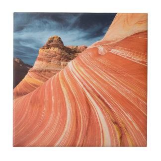 The wave, vermilion cliffs, Arizona Ceramic Tile