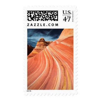 The wave, vermilion cliffs, Arizona Postage