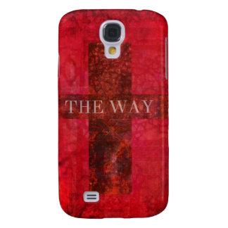 THE WAY cross Contemporary Christian art Samsung S4 Case