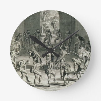 The Way in which Caribbean Priests Boost their Cou Round Wall Clock