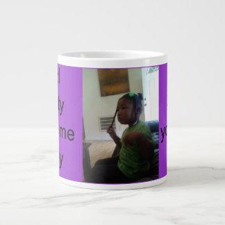 the way my sister makes me feel giant coffee mug