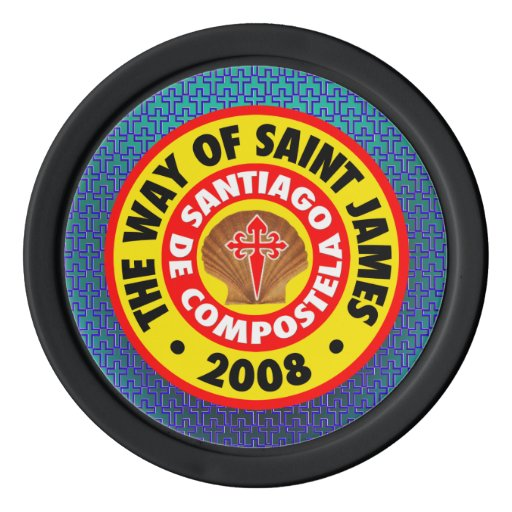 The Way of Saint James 2008 Set Of Poker Chips