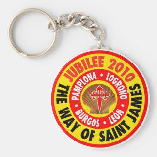 The Way of Saint James 2010 Basic Round Button Keychain