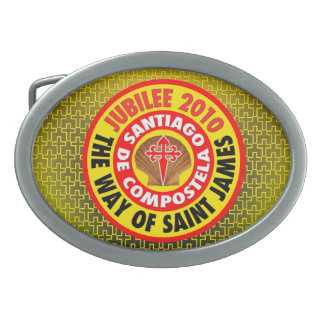 The Way of Saint James 2010 Oval Belt Buckle