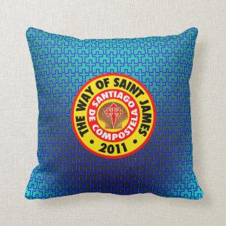 The Way of Saint James 2011 Throw Pillows