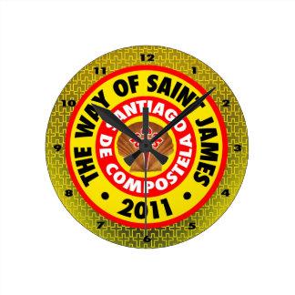 The Way of Saint James 2011 Round Clock