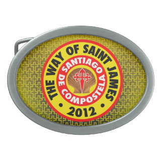 The Way of Saint James 2012 Oval Belt Buckle