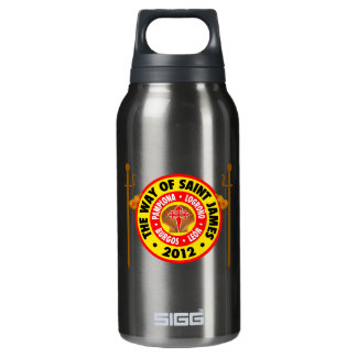 The Way of Saint James 2012 Insulated Water Bottle