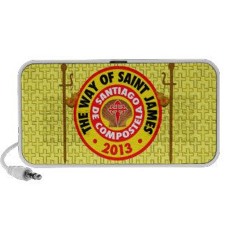 The Way of Saint James 2013 iPod Speaker