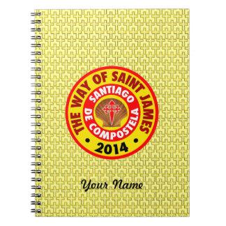 The Way of Saint James 2014 Notebook