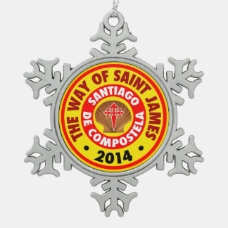 The Way of Saint James 2014 Ornament