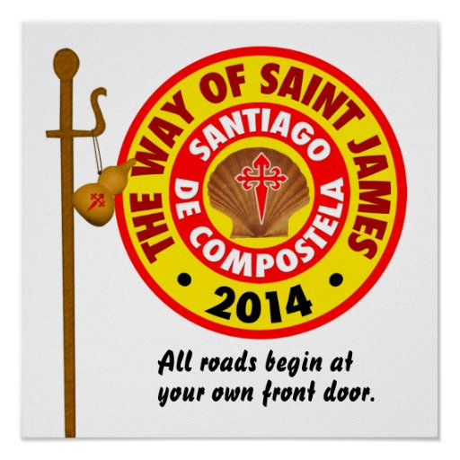 The Way of Saint James 2014 Posters