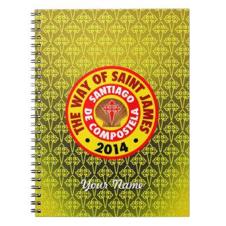 The Way of Saint James 2014 Spiral Notebook