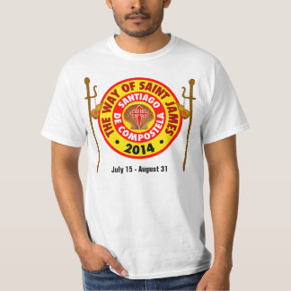 The Way of Saint James 2014 T-shirt