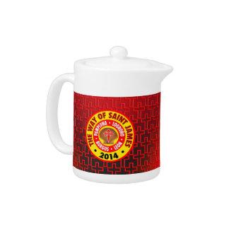 The Way of Saint James 2014 Teapot
