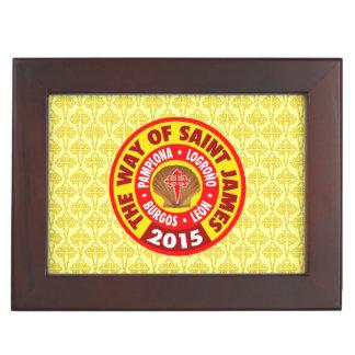 The Way of Saint James 2015 Keepsake Box
