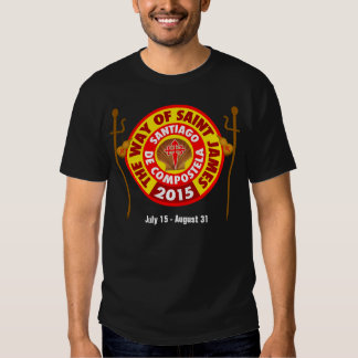 The Way of Saint James 2015 T-shirt