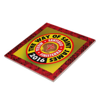 The Way of Saint James 2016 Ceramic Tile