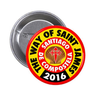 The Way of Saint James 2016 Pinback Button