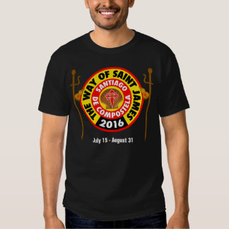 The Way of Saint James 2016 T-shirt