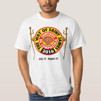The Way of Saint James 2016 T Shirt