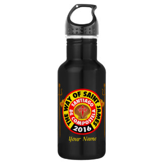 The Way of Saint James 2016 Water Bottle