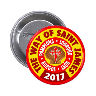 The Way of Saint James 2017 Button
