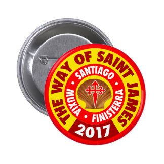 The Way of Saint James 2017 Pinback Button