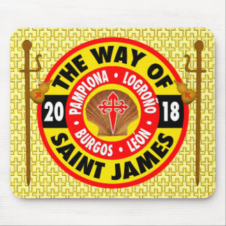 The Way of Saint James 2018 Mouse Pad