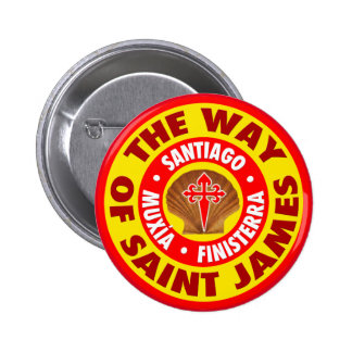 The Way of Saint James Button