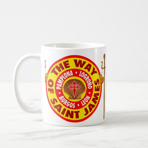 The Way of Saint James Classic White Coffee Mug