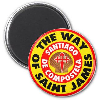 The Way of Saint James Magnet