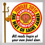 The Way of Saint James to Santiago de Compostela Print