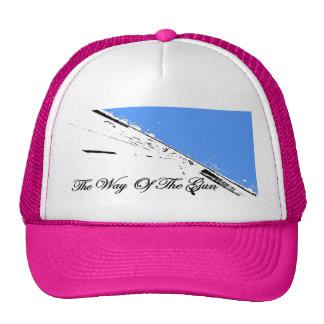 the way of the gun blue road girls trucker hat