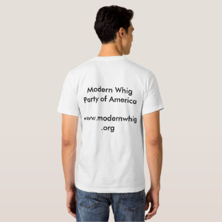 The Way of The Whig  t-shirt