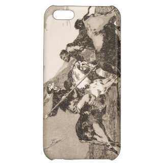 The way the ancient Spaniards baited the bull Cover For iPhone 5C