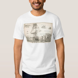 The Way They go to California (0478A) T-shirt