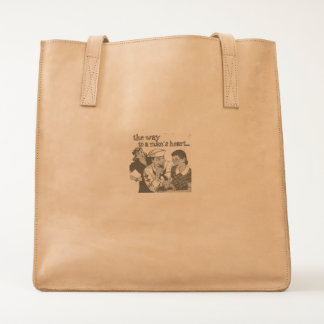 The way to a man's heart ❤ bag, for sale ! tote