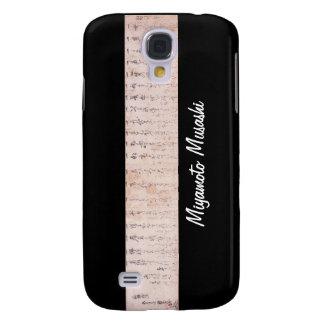 """The Way to be Followed Alone"" Dokkodo (Musashi) Samsung S4 Case"