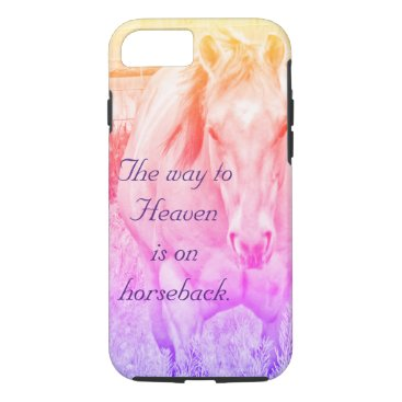 The way to Heaven (rainbow) iPhone 8/7 Case