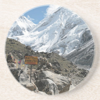 The way to Mount Everest Drink Coaster