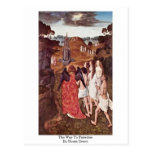 The Way To Paradise By Bouts Dieric Postcard
