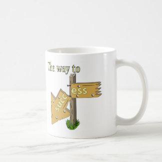 The Way to Succ Ess Coffee Mug