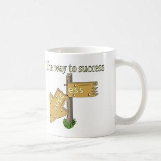 The way to Success Coffee Mug