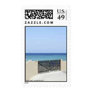 The way to the sea Postage Stamp