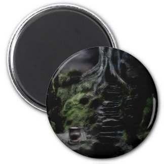the way to wonderland 2 inch round magnet