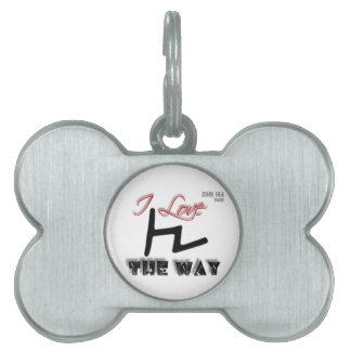 The Way (Tsade) Pet Tags